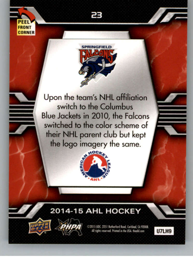 2014-15-Upper-Deck-AHL-Autographs-Stickers-Patch-Cards-Pick-From-List thumbnail 201