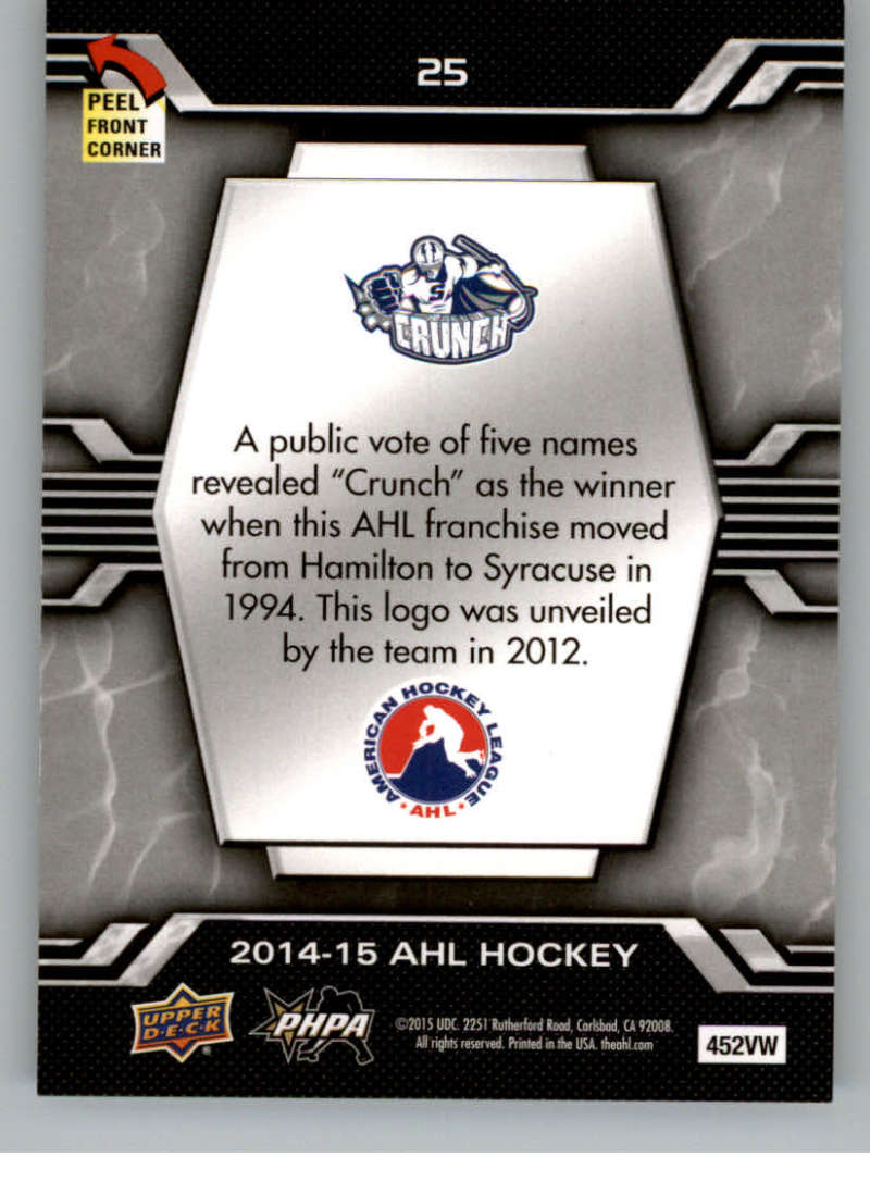 2014-15-Upper-Deck-AHL-Autographs-Stickers-Patch-Cards-Pick-From-List thumbnail 199