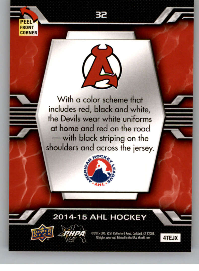 2014-15-Upper-Deck-AHL-Autographs-Stickers-Patch-Cards-Pick-From-List thumbnail 209