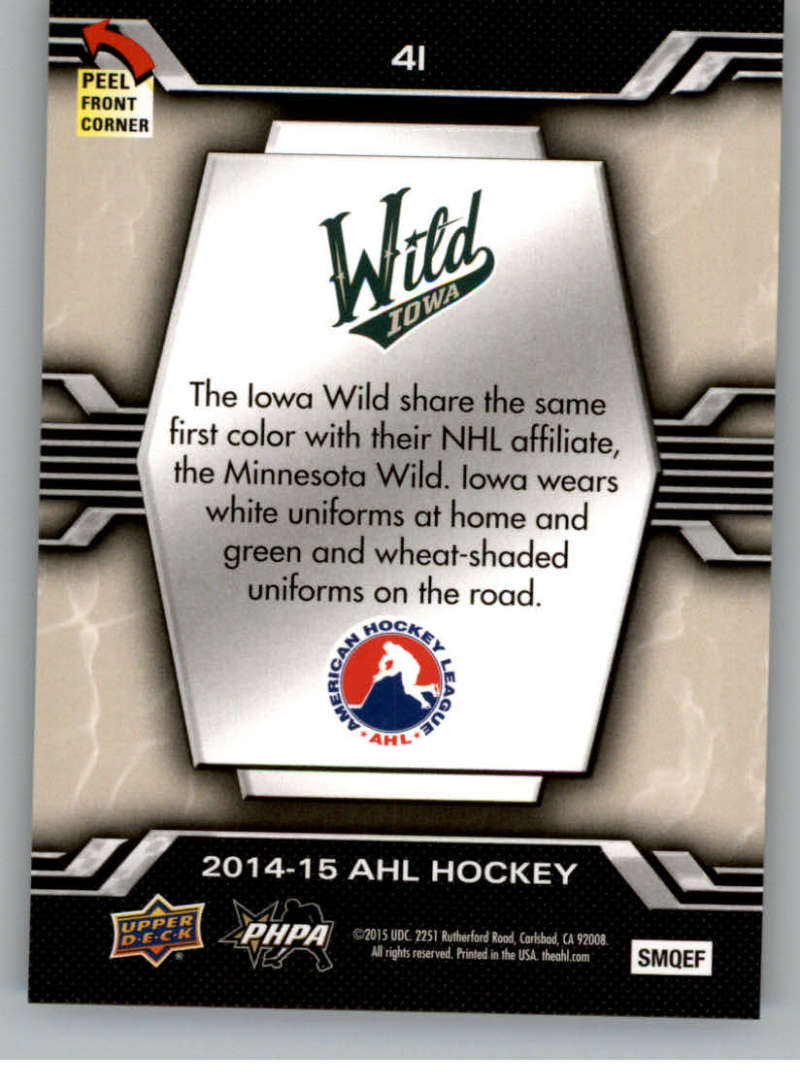 2014-15-Upper-Deck-AHL-Autographs-Stickers-Patch-Cards-Pick-From-List thumbnail 223