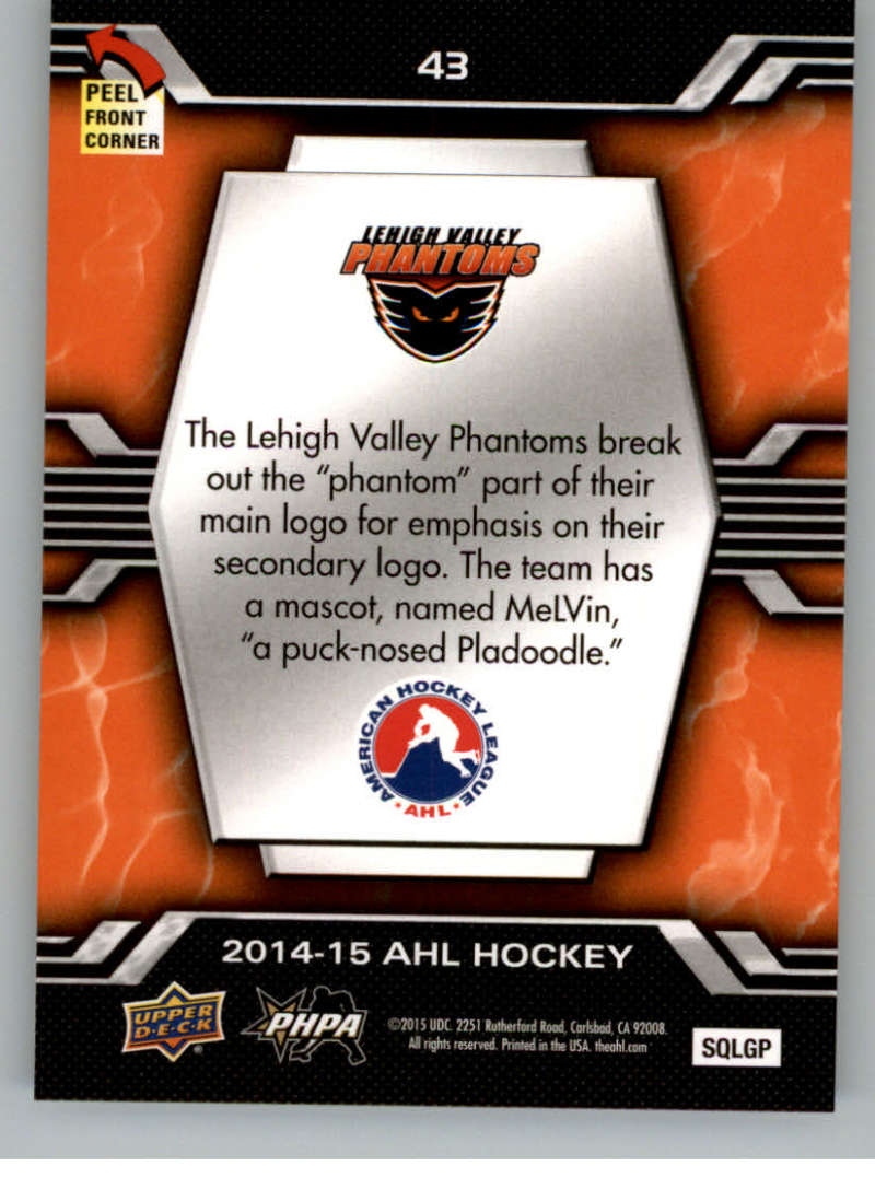 2014-15-Upper-Deck-AHL-Autographs-Stickers-Patch-Cards-Pick-From-List thumbnail 227
