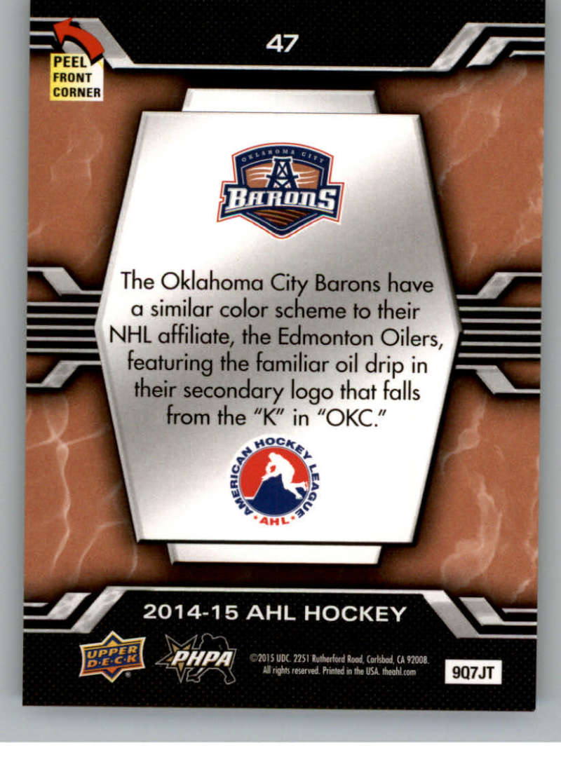 2014-15-Upper-Deck-AHL-Autographs-Stickers-Patch-Cards-Pick-From-List thumbnail 233