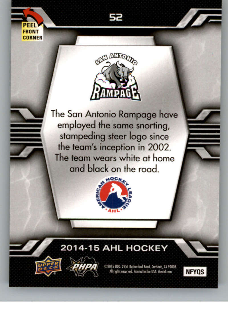 2014-15-Upper-Deck-AHL-Autographs-Stickers-Patch-Cards-Pick-From-List thumbnail 243