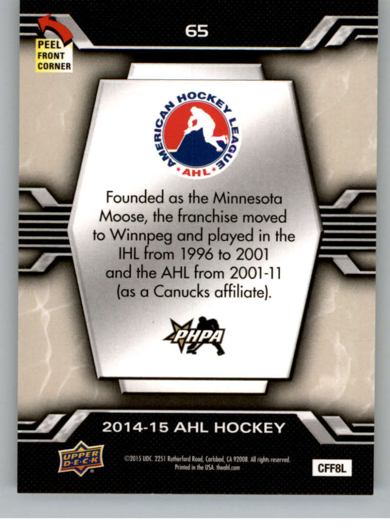 2014-15-Upper-Deck-AHL-Autographs-Stickers-Patch-Cards-Pick-From-List thumbnail 259