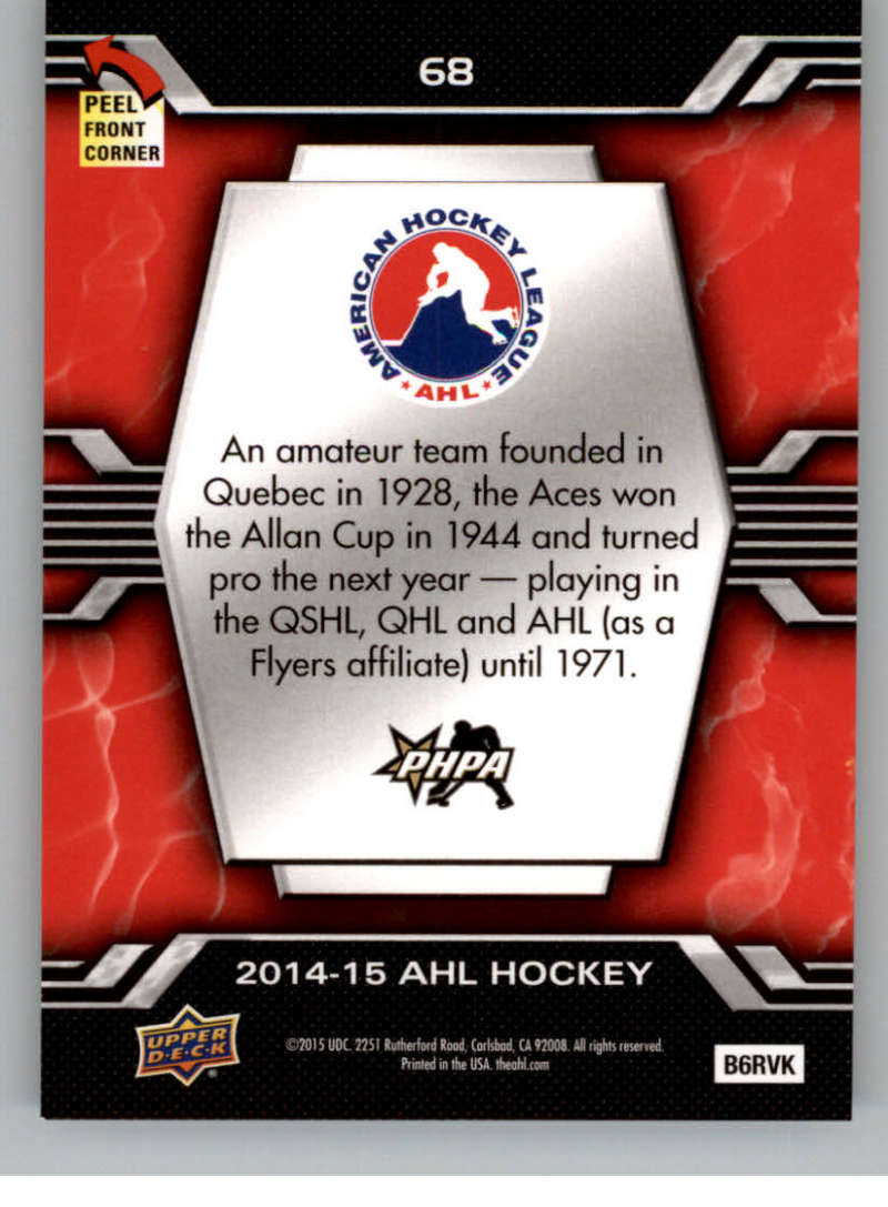 2014-15-Upper-Deck-AHL-Autographs-Stickers-Patch-Cards-Pick-From-List thumbnail 265