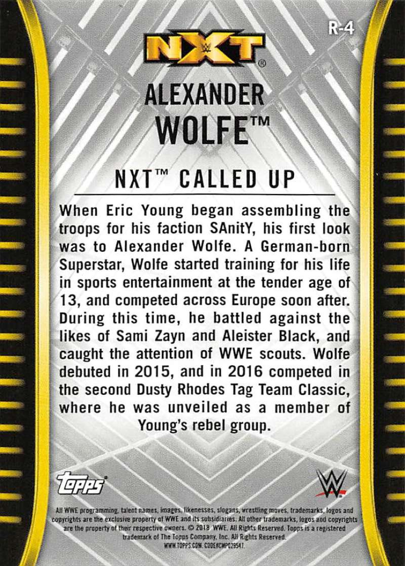 2018-Topps-WWE-NXT-Base-or-Matches-and-Moments-Cards-Pick-From-List thumbnail 5