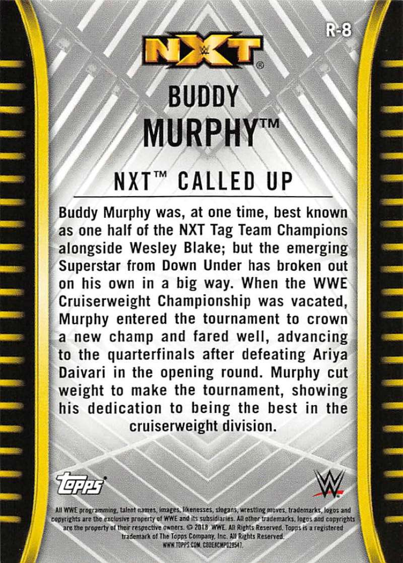 2018-Topps-WWE-NXT-Base-or-Matches-and-Moments-Cards-Pick-From-List thumbnail 11
