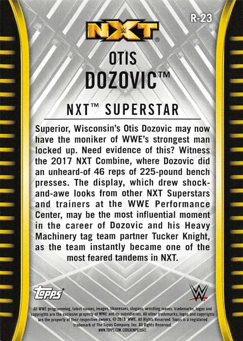 2018-Topps-WWE-NXT-Base-or-Matches-and-Moments-Cards-Pick-From-List thumbnail 27