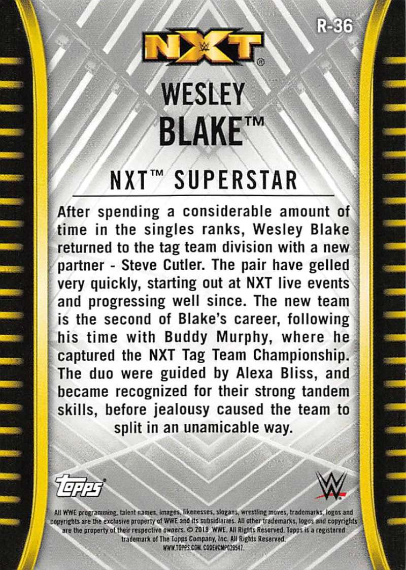 2018-Topps-WWE-NXT-Base-or-Matches-and-Moments-Cards-Pick-From-List thumbnail 33