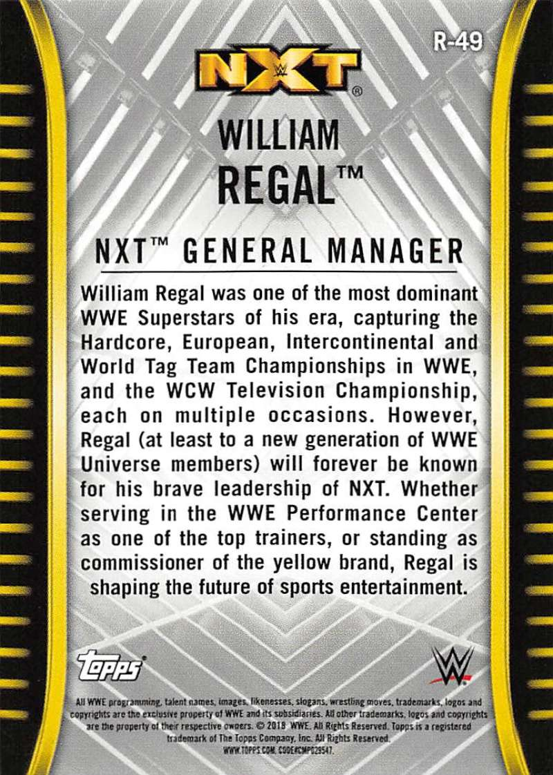 2018-Topps-WWE-NXT-Base-or-Matches-and-Moments-Cards-Pick-From-List thumbnail 43
