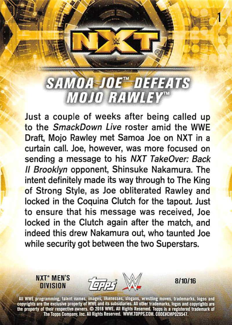 2018-Topps-WWE-NXT-Base-or-Matches-and-Moments-Cards-Pick-From-List thumbnail 47