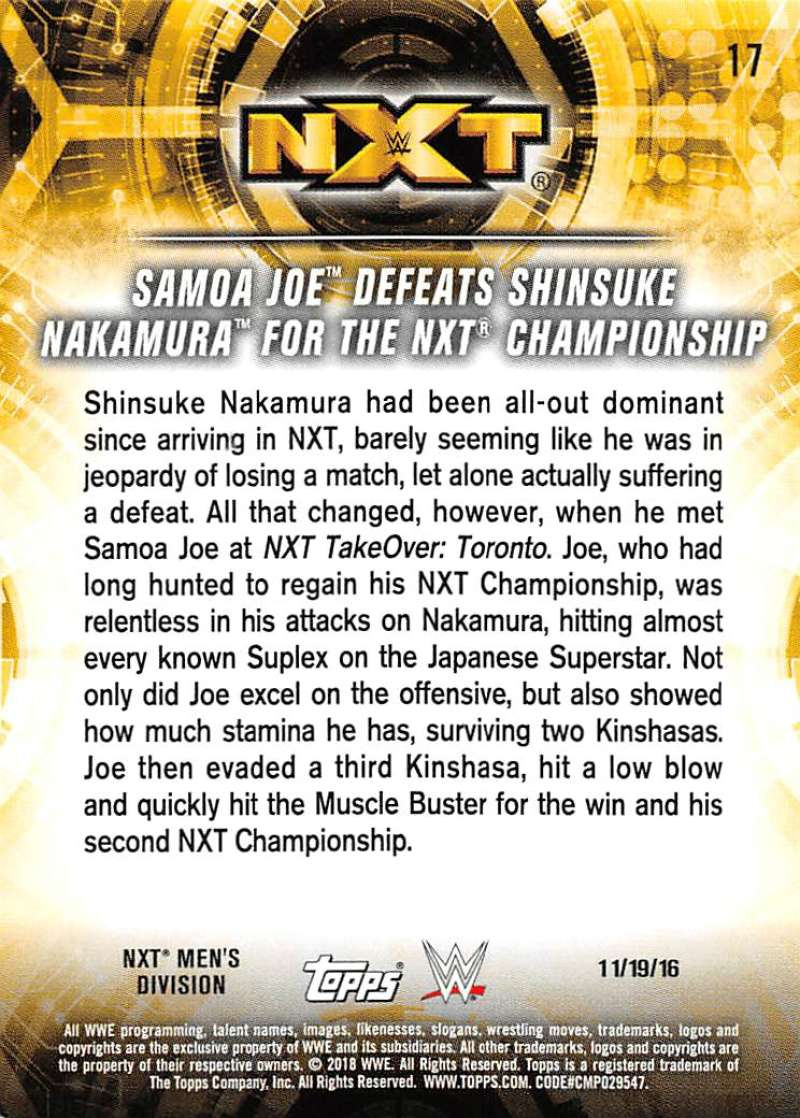 2018-Topps-WWE-NXT-Base-or-Matches-and-Moments-Cards-Pick-From-List thumbnail 65