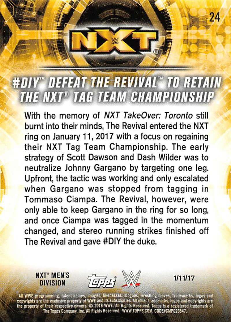 2018-Topps-WWE-NXT-Base-or-Matches-and-Moments-Cards-Pick-From-List thumbnail 77
