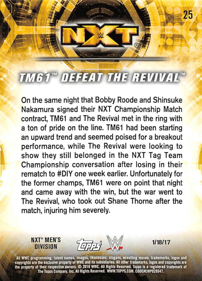 2018-Topps-WWE-NXT-Base-or-Matches-and-Moments-Cards-Pick-From-List thumbnail 79