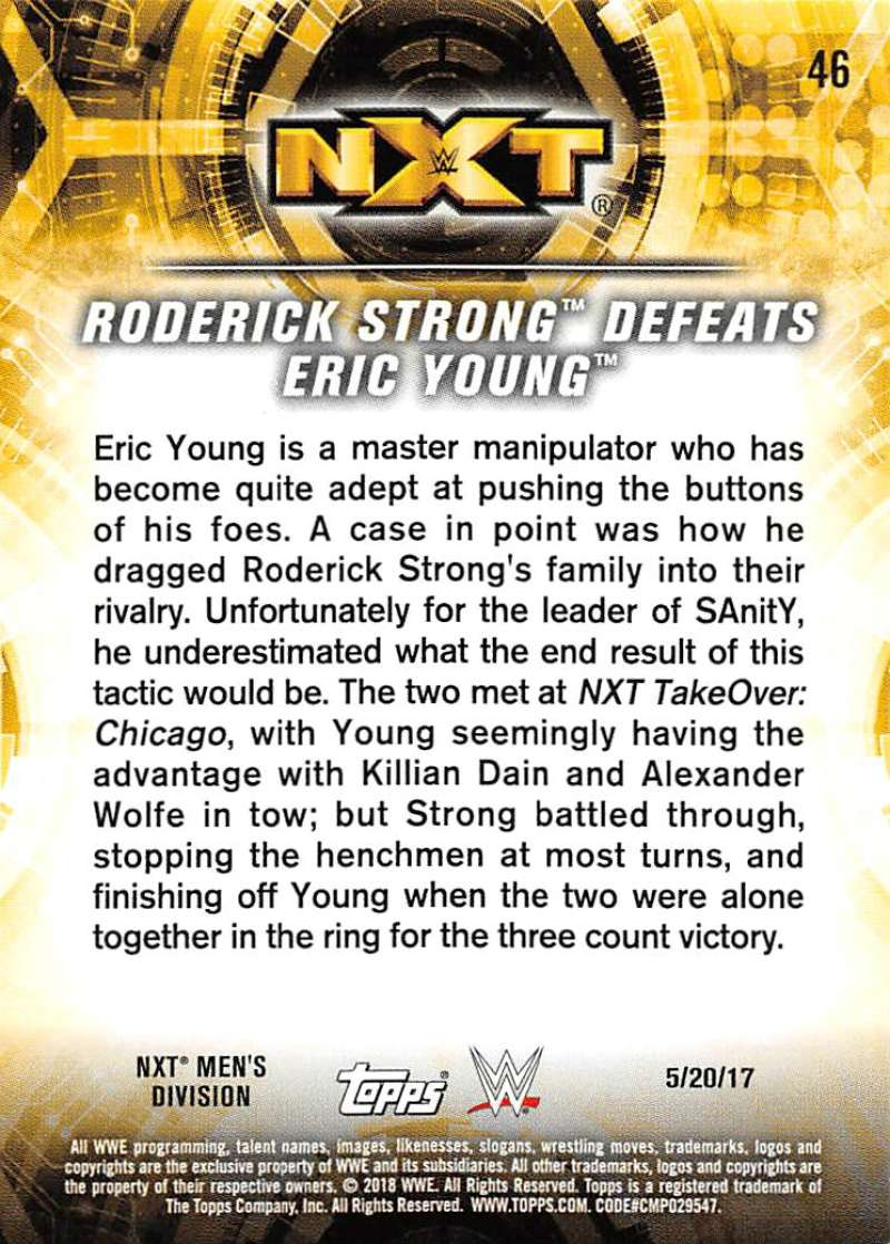 2018-Topps-WWE-NXT-Base-or-Matches-and-Moments-Cards-Pick-From-List thumbnail 115