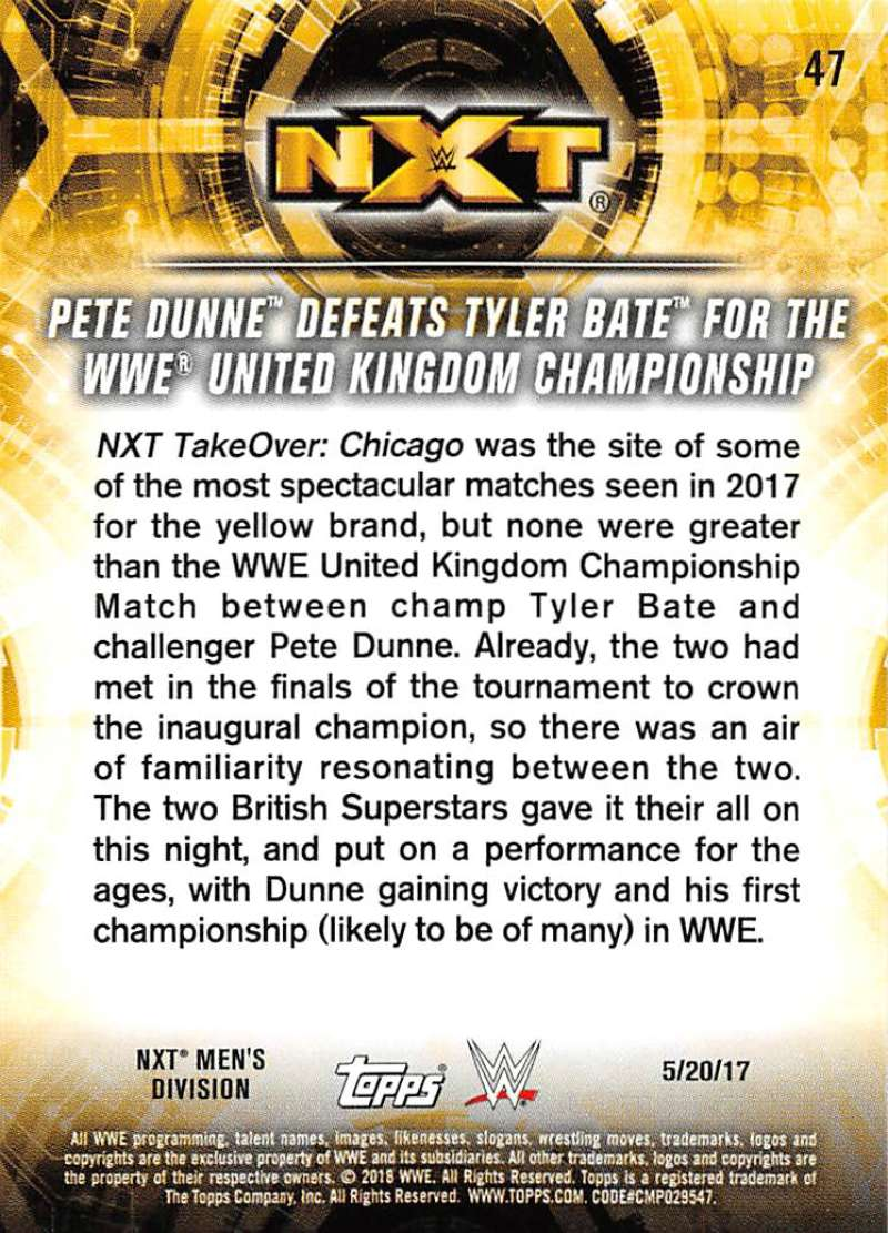 2018-Topps-WWE-NXT-Base-or-Matches-and-Moments-Cards-Pick-From-List thumbnail 117