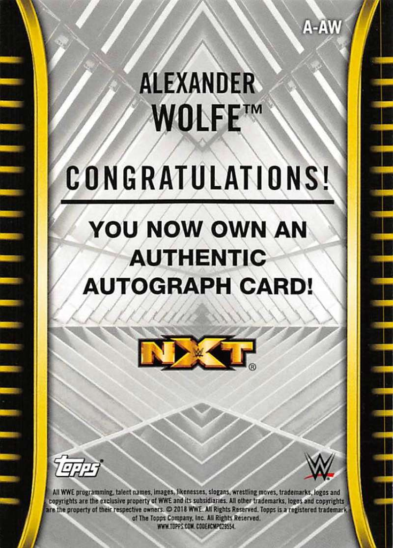 2018-Topps-WWE-NXT-Base-Bronze-Blue-or-Silver-Autographs-Pick-From-List thumbnail 5
