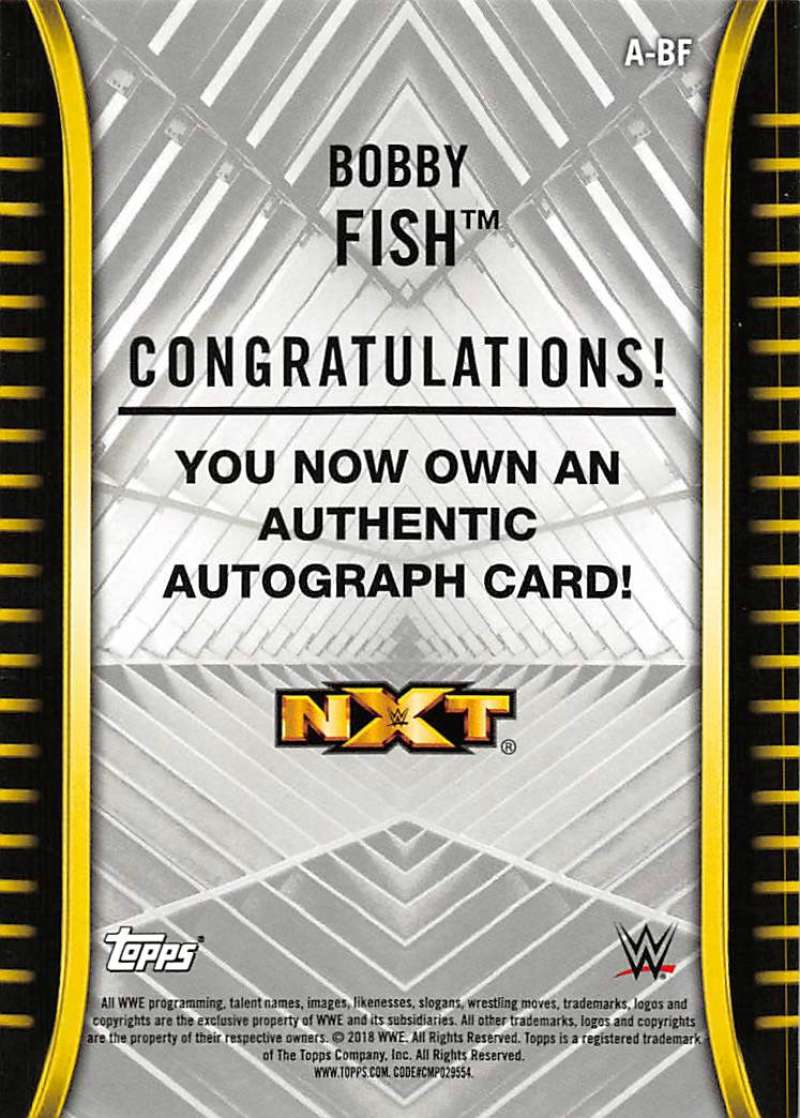 2018-Topps-WWE-NXT-Base-Bronze-Blue-or-Silver-Autographs-Pick-From-List thumbnail 7