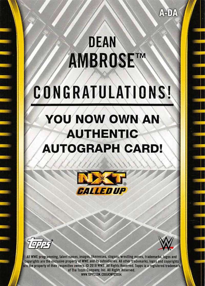 2018-Topps-WWE-NXT-Base-Bronze-Blue-or-Silver-Autographs-Pick-From-List thumbnail 11