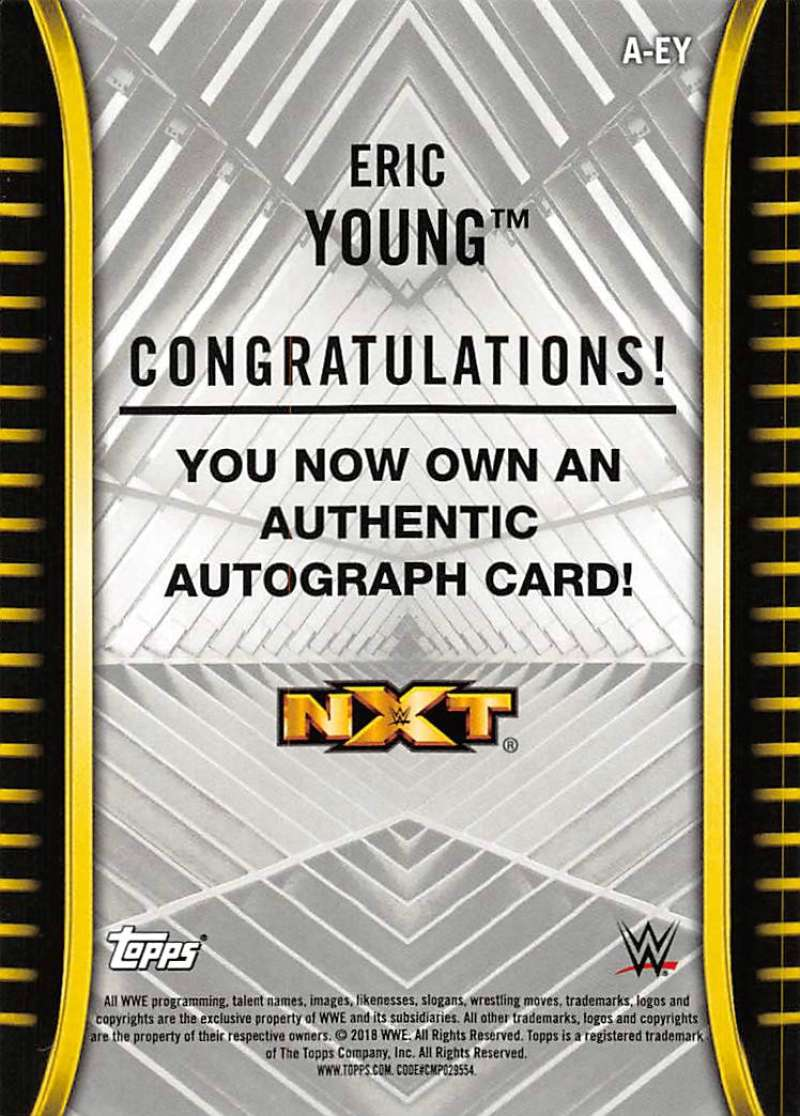 2018-Topps-WWE-NXT-Base-Bronze-Blue-or-Silver-Autographs-Pick-From-List thumbnail 13