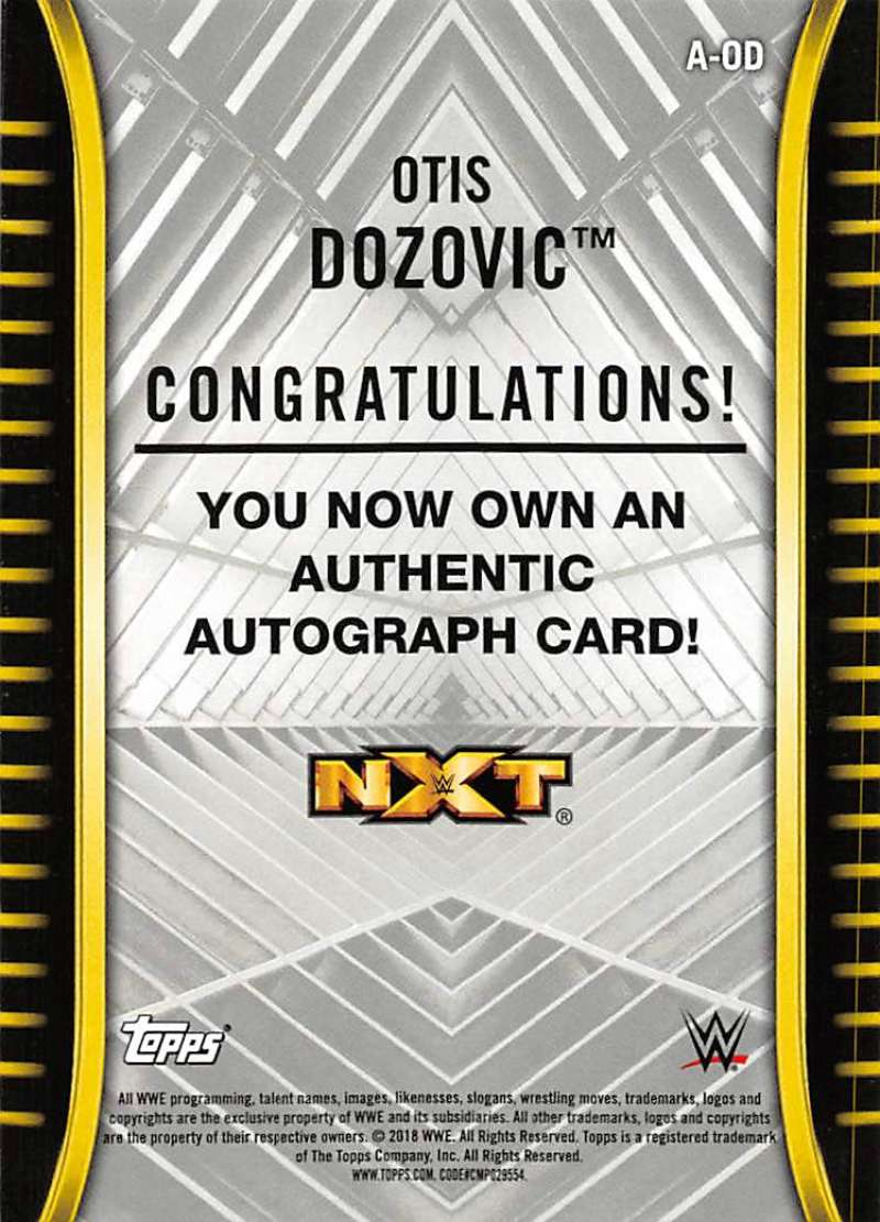 2018-Topps-WWE-NXT-Base-Bronze-Blue-or-Silver-Autographs-Pick-From-List thumbnail 23