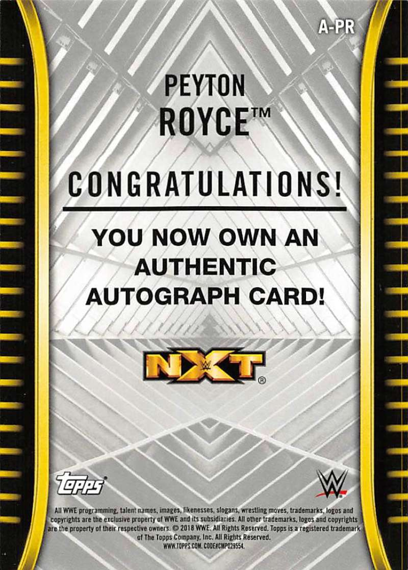 2018-Topps-WWE-NXT-Base-Bronze-Blue-or-Silver-Autographs-Pick-From-List thumbnail 29