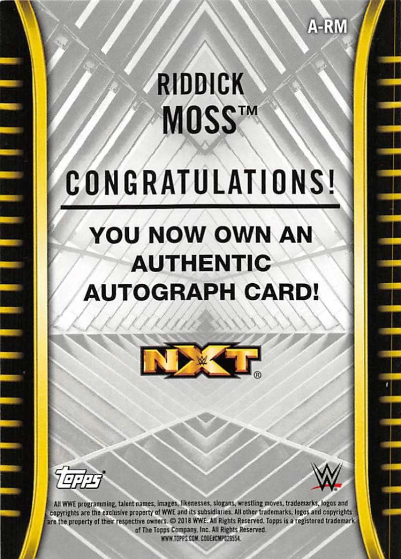 2018-Topps-WWE-NXT-Base-Bronze-Blue-or-Silver-Autographs-Pick-From-List thumbnail 33