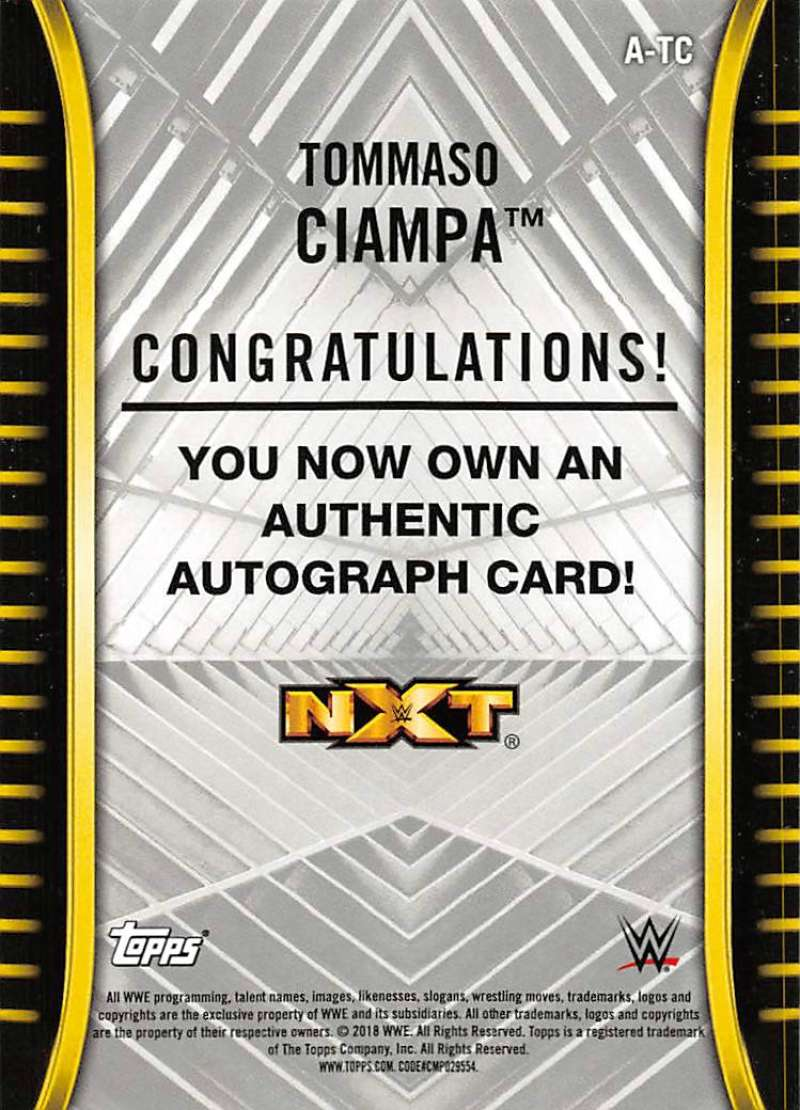 2018-Topps-WWE-NXT-Base-Bronze-Blue-or-Silver-Autographs-Pick-From-List thumbnail 35