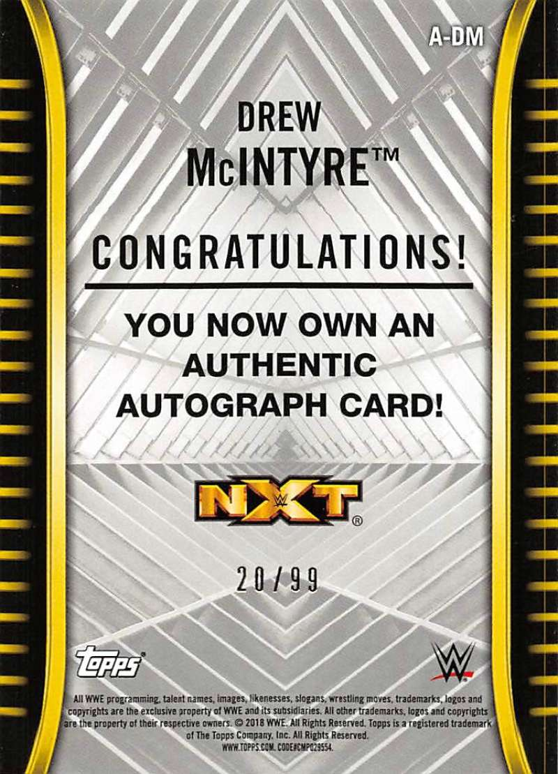 2018-Topps-WWE-NXT-Base-Bronze-Blue-or-Silver-Autographs-Pick-From-List thumbnail 45