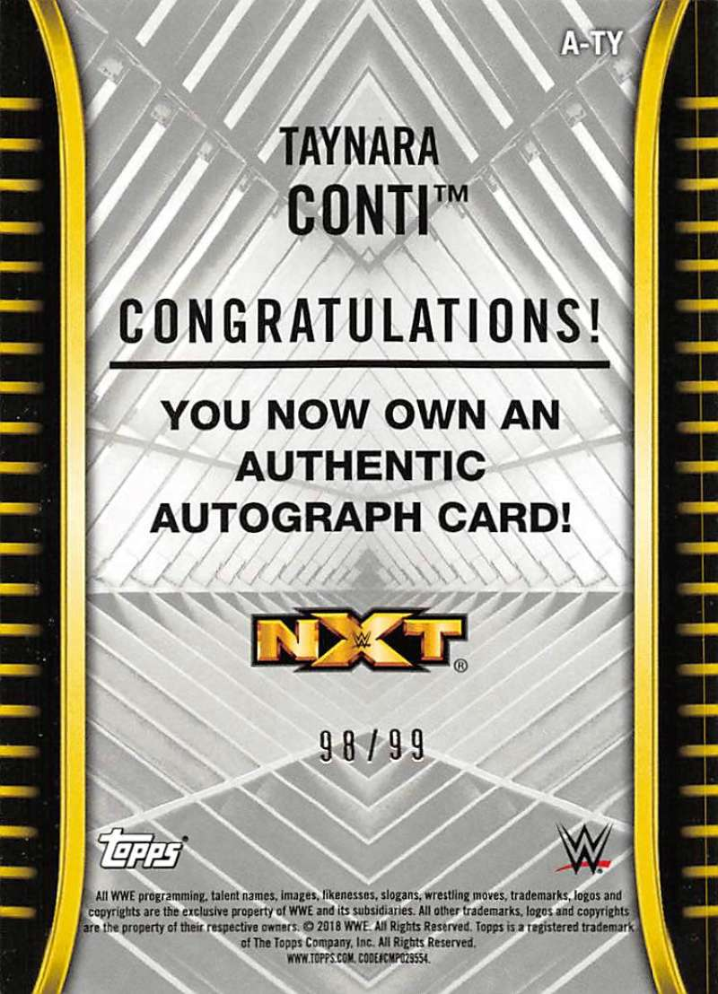 2018-Topps-WWE-NXT-Base-Bronze-Blue-or-Silver-Autographs-Pick-From-List thumbnail 51