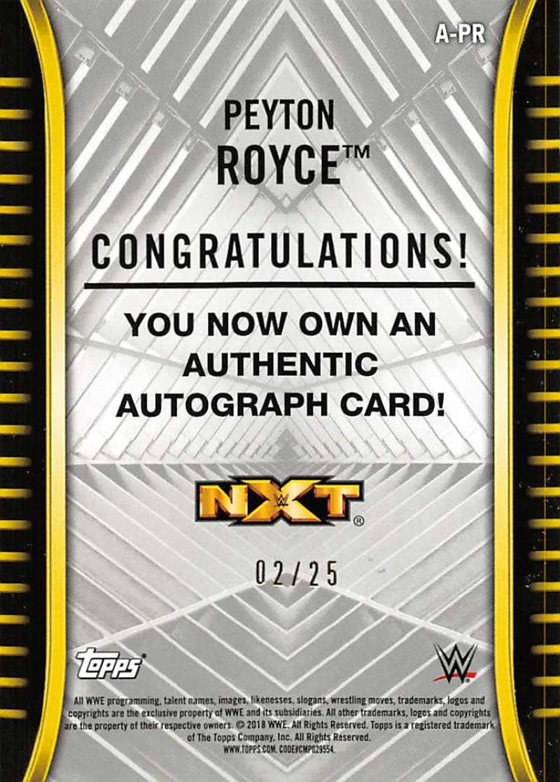 2018-Topps-WWE-NXT-Base-Bronze-Blue-or-Silver-Autographs-Pick-From-List thumbnail 57