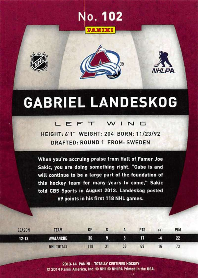 2013-14-Panini-Totally-Certified-Base-and-Rookie-Cards-Pick-From-List thumbnail 197