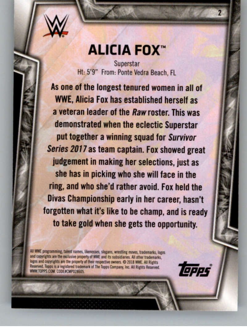 2018-Topps-WWE-Women-039-s-Division-Evolution-Base-and-Insert-Cards-Pick-From-List thumbnail 3