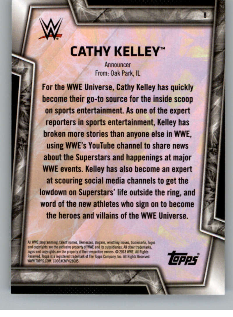2018-Topps-WWE-Women-039-s-Division-Evolution-Base-and-Insert-Cards-Pick-From-List thumbnail 9