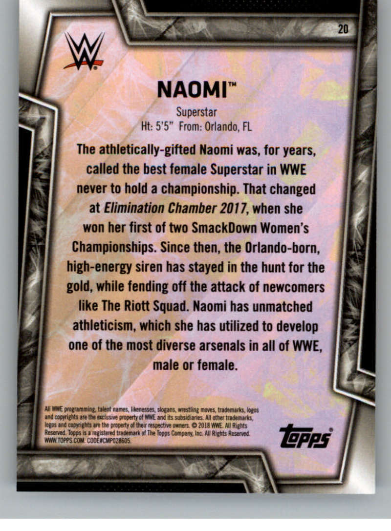 2018-Topps-WWE-Women-039-s-Division-Evolution-Base-and-Insert-Cards-Pick-From-List thumbnail 11