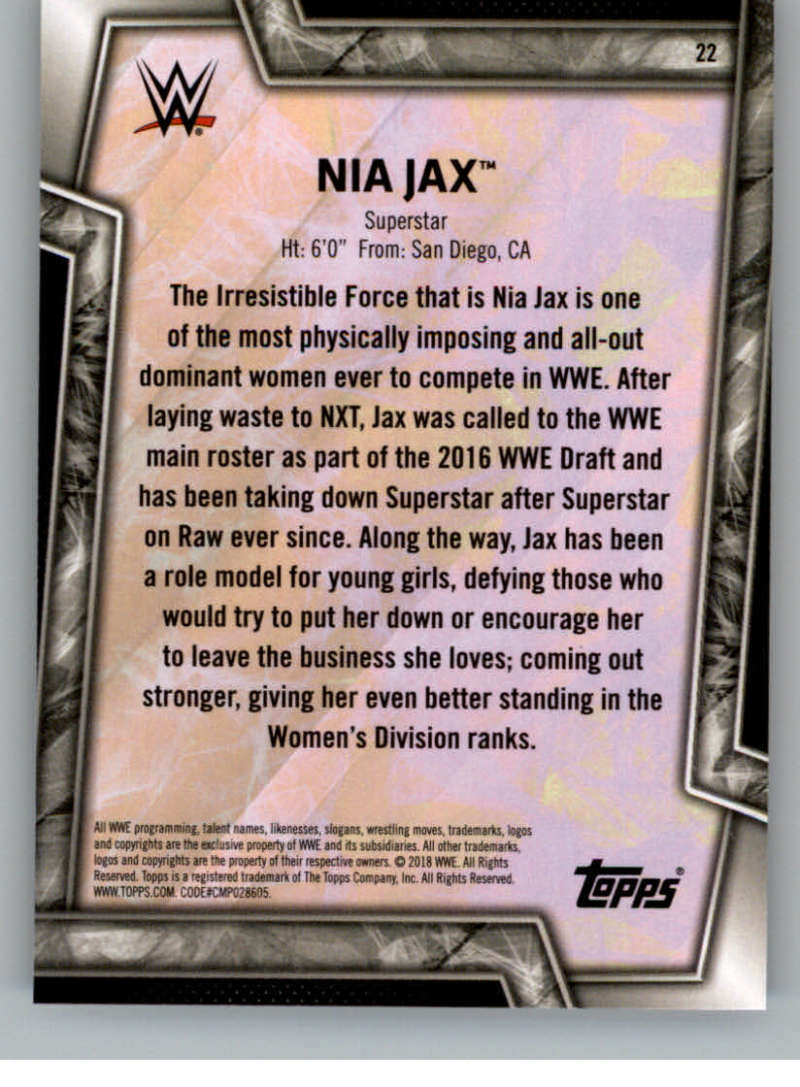 2018-Topps-WWE-Women-039-s-Division-Evolution-Base-and-Insert-Cards-Pick-From-List thumbnail 13