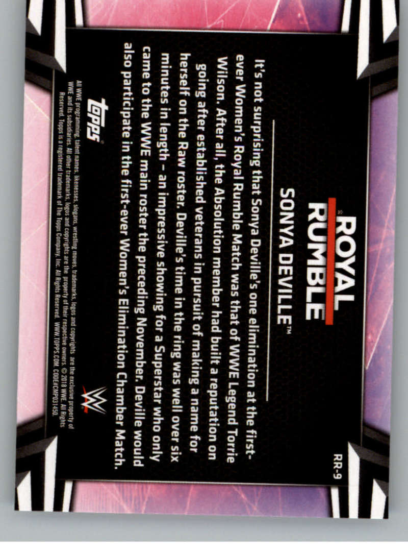 2018-Topps-WWE-Women-039-s-Division-Evolution-Base-and-Insert-Cards-Pick-From-List thumbnail 179
