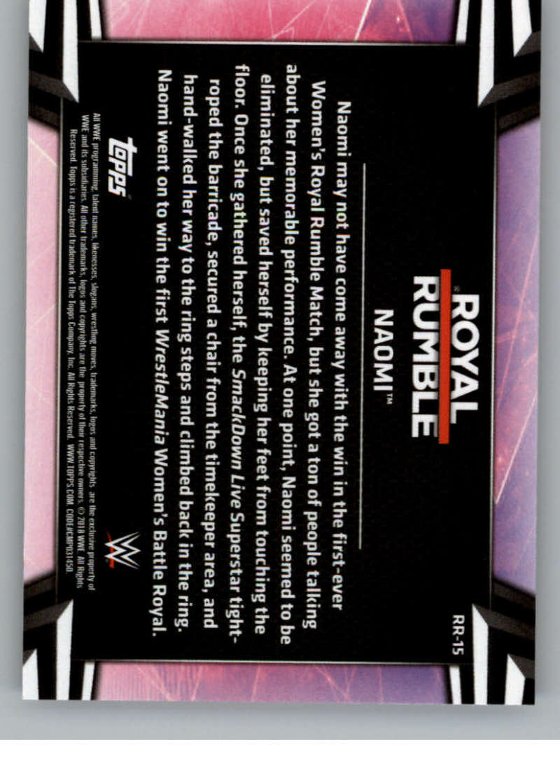 2018-Topps-WWE-Women-039-s-Division-Evolution-Base-and-Insert-Cards-Pick-From-List thumbnail 189