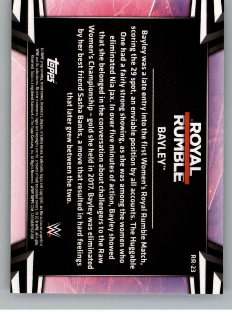 2018-Topps-WWE-Women-039-s-Division-Evolution-Base-and-Insert-Cards-Pick-From-List thumbnail 205