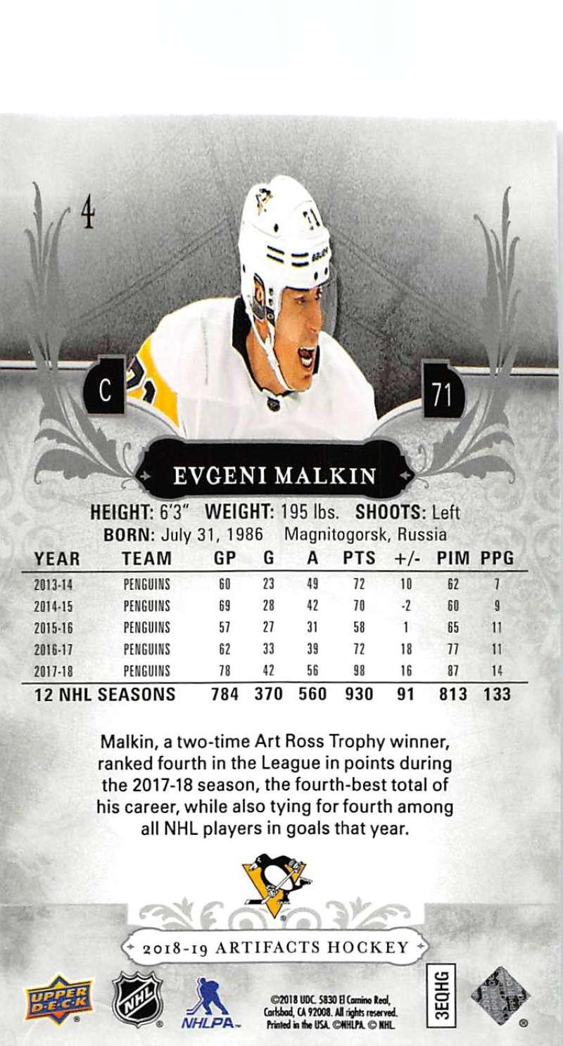2018-19-Upper-Deck-Artifacts-Hockey-Cards-Pick-From-List-Rookies-Legends-SPs miniature 5