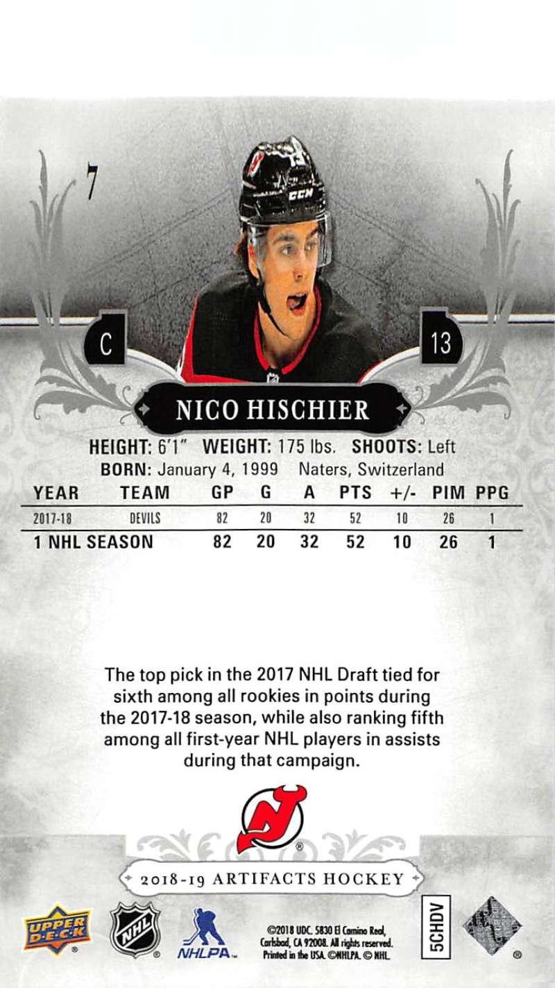 2018-19-Upper-Deck-Artifacts-Hockey-Cards-Pick-From-List-Rookies-Legends-SPs miniature 11
