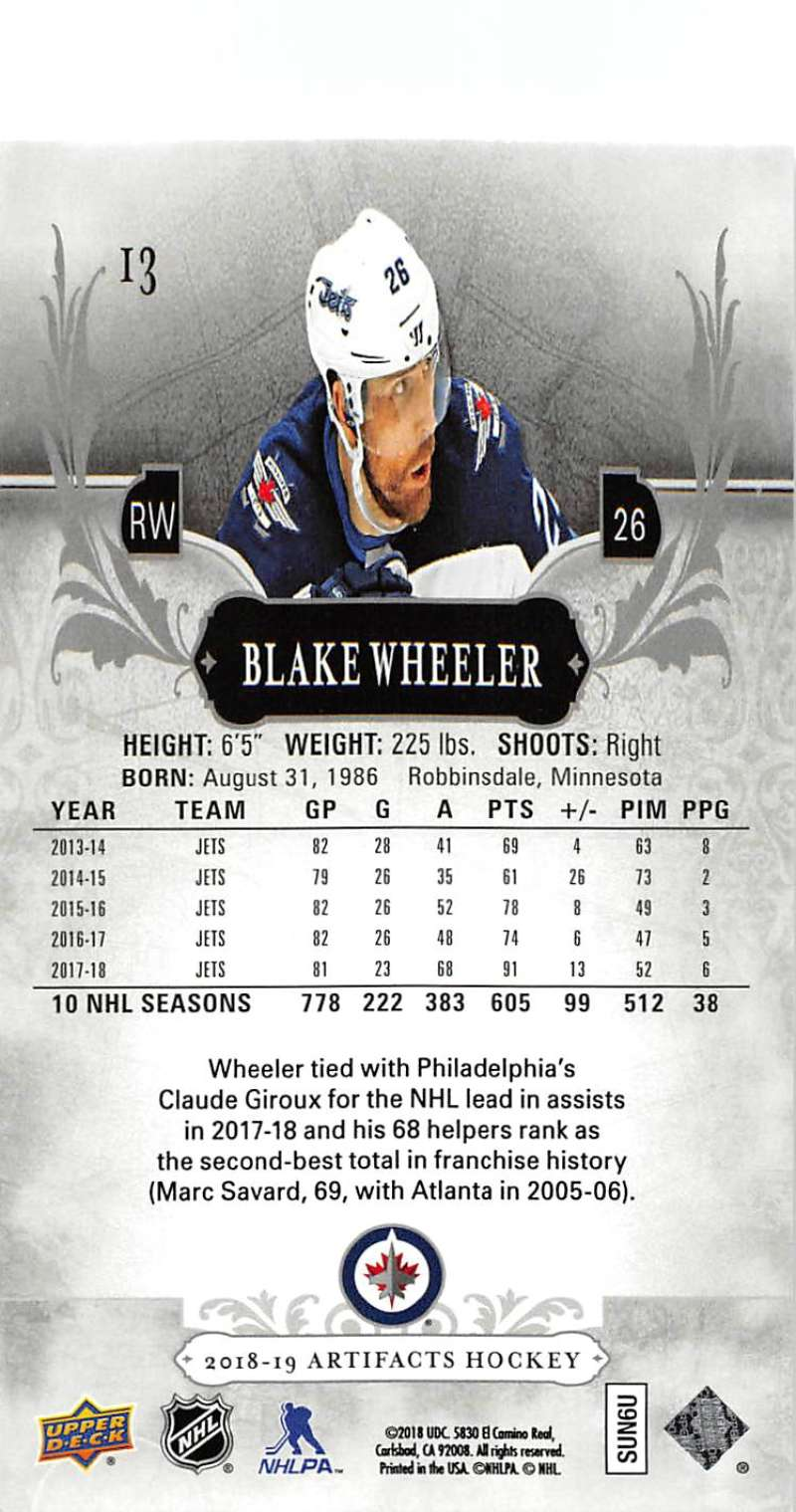 2018-19-Upper-Deck-Artifacts-Hockey-Cards-Pick-From-List-Rookies-Legends-SPs miniature 23
