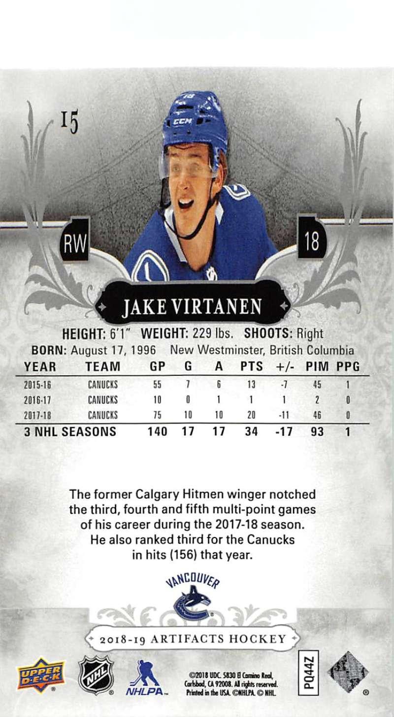 2018-19-Upper-Deck-Artifacts-Hockey-Cards-Pick-From-List-Rookies-Legends-SPs miniature 27