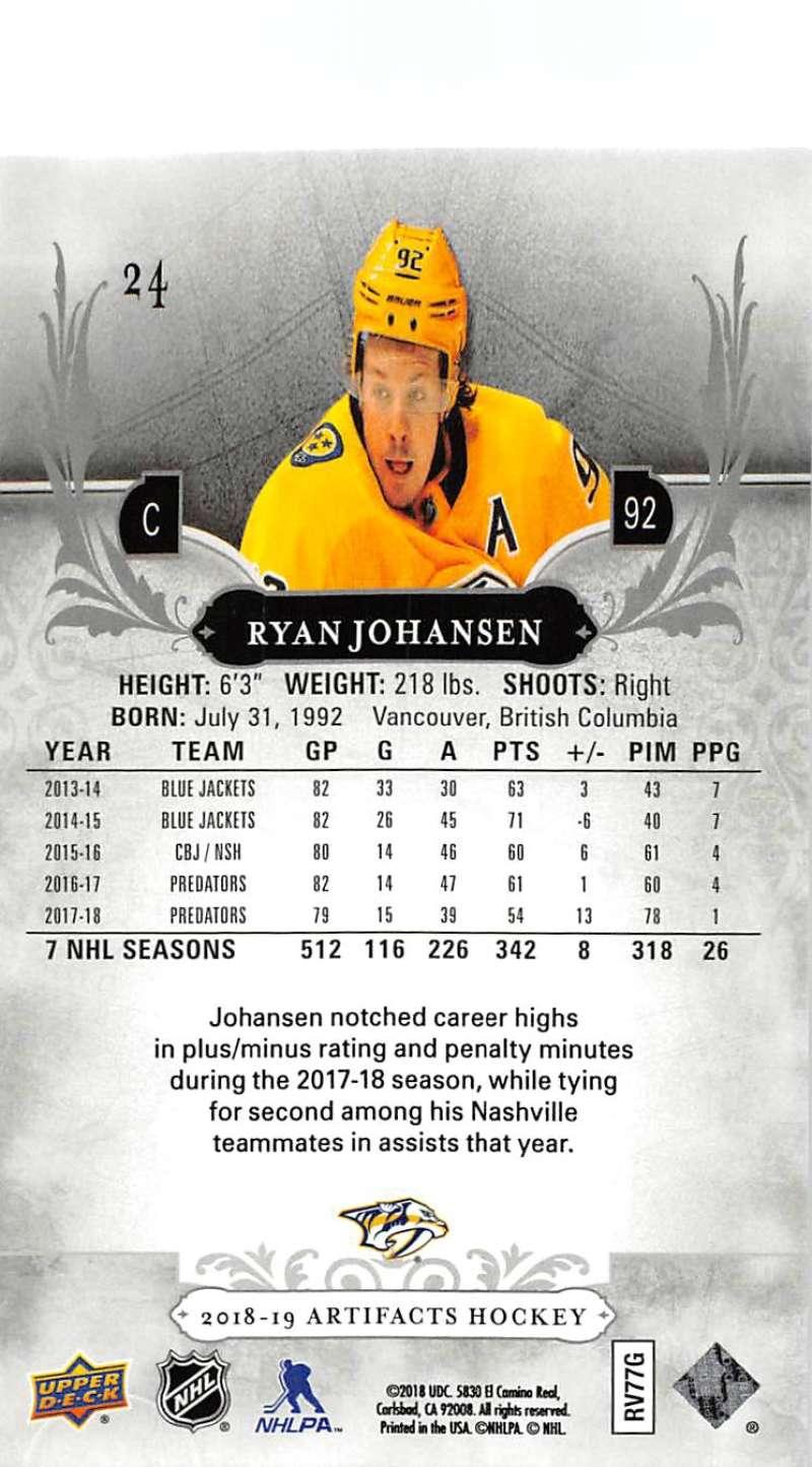2018-19-Upper-Deck-Artifacts-Hockey-Cards-Pick-From-List-Rookies-Legends-SPs miniature 39