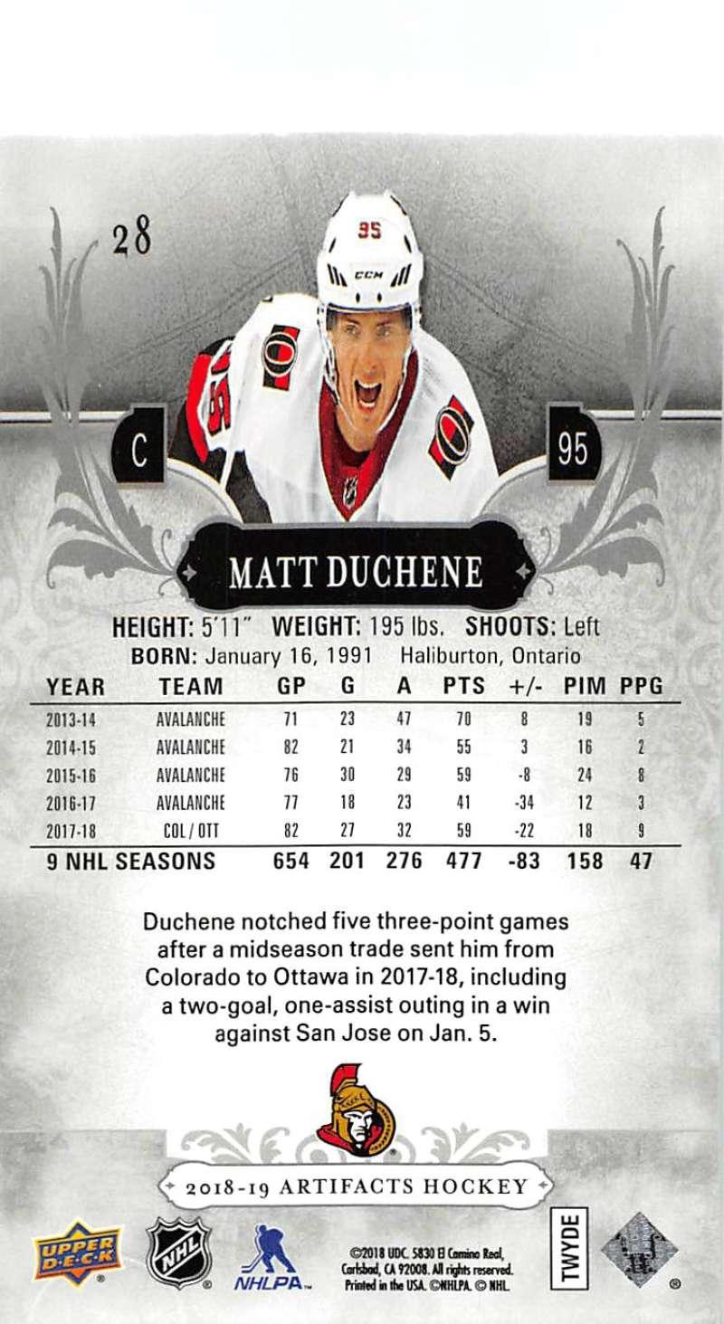 2018-19-Upper-Deck-Artifacts-Hockey-Cards-Pick-From-List-Rookies-Legends-SPs miniature 43