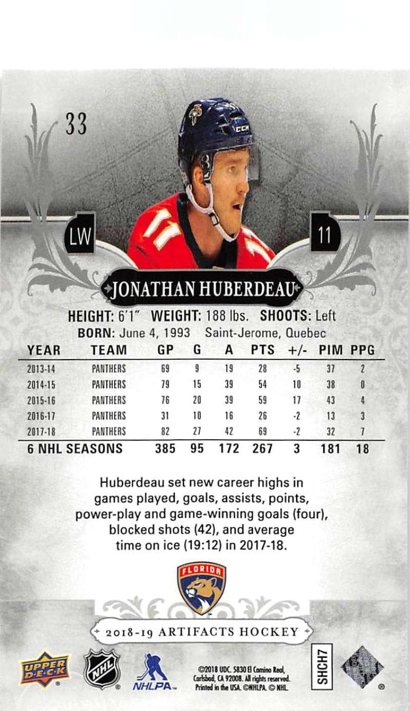 2018-19-Upper-Deck-Artifacts-Hockey-Cards-Pick-From-List-Rookies-Legends-SPs miniature 53
