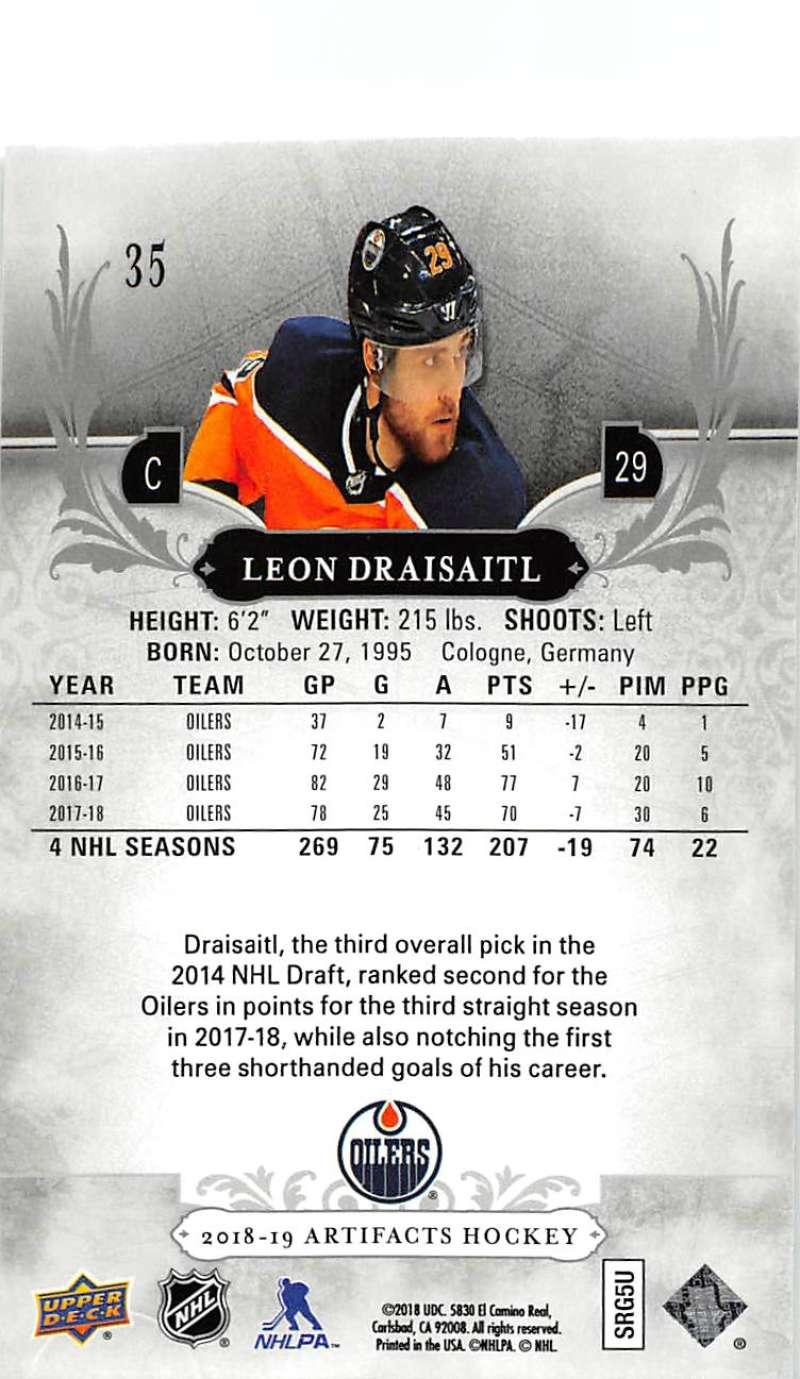 2018-19-Upper-Deck-Artifacts-Hockey-Cards-Pick-From-List-Rookies-Legends-SPs miniature 55