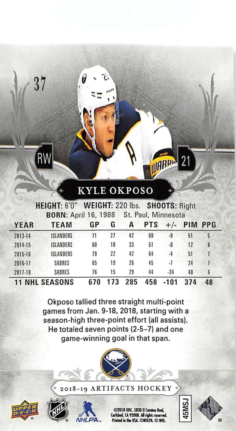 2018-19-Upper-Deck-Artifacts-Hockey-Cards-Pick-From-List-Rookies-Legends-SPs miniature 59