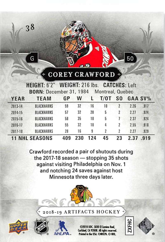 2018-19-Upper-Deck-Artifacts-Hockey-Cards-Pick-From-List-Rookies-Legends-SPs miniature 61