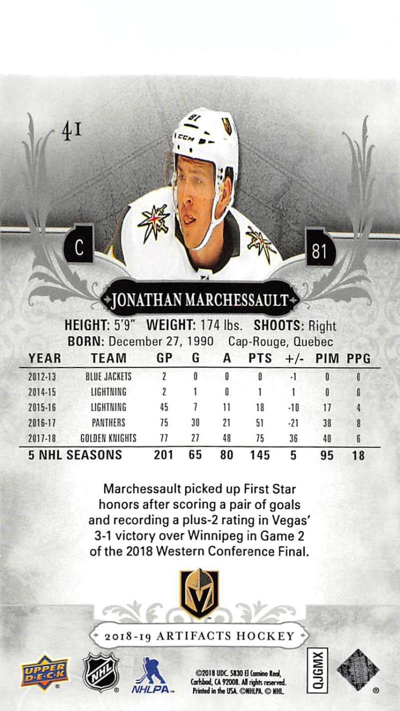 2018-19-Upper-Deck-Artifacts-Hockey-Cards-Pick-From-List-Rookies-Legends-SPs miniature 65